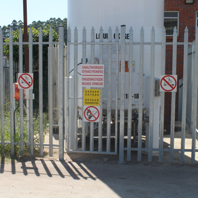 Industrial ped gate 3